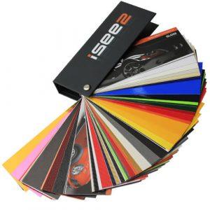 Isee2 wrap kleurenwaaier