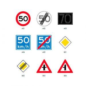 Verkeersymbolen